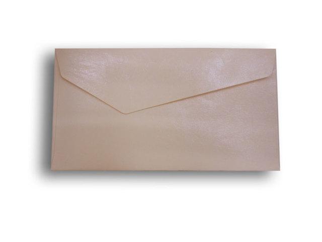 【ZAN月】 レギュラー封筒 エナメルレザー ホワイト