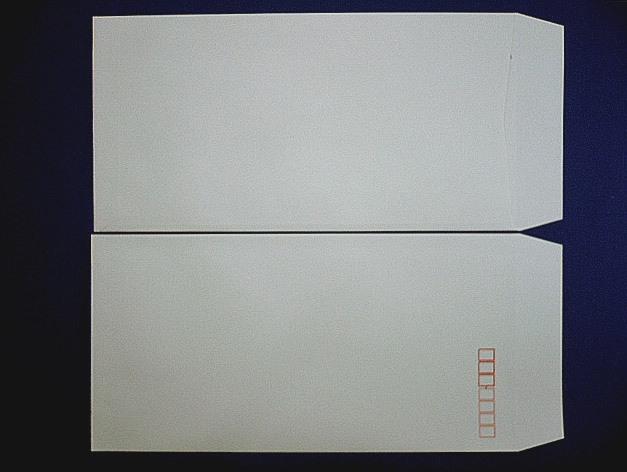 長3封筒 ソフトグレー 80g L貼 100枚(309321)☆小ロット