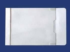 角2封筒 マチ付 保存袋 /ホワイト 120g 玉なし/100枚(H20B01)