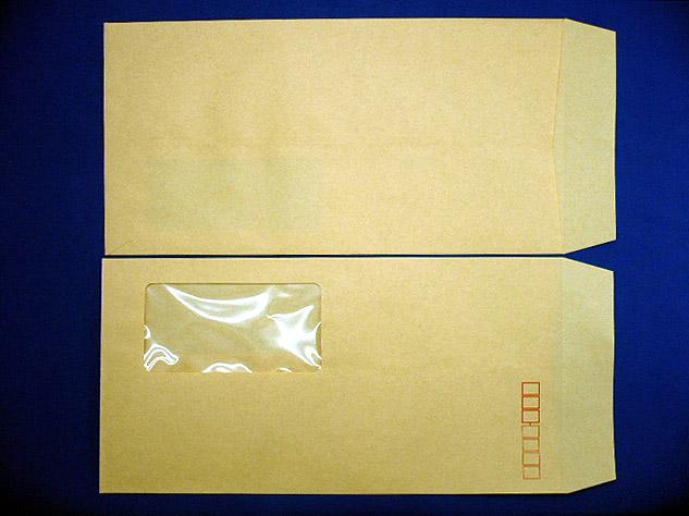 長3封筒クラフト70g A窓郵便枠付 1,000枚(3A1700)
