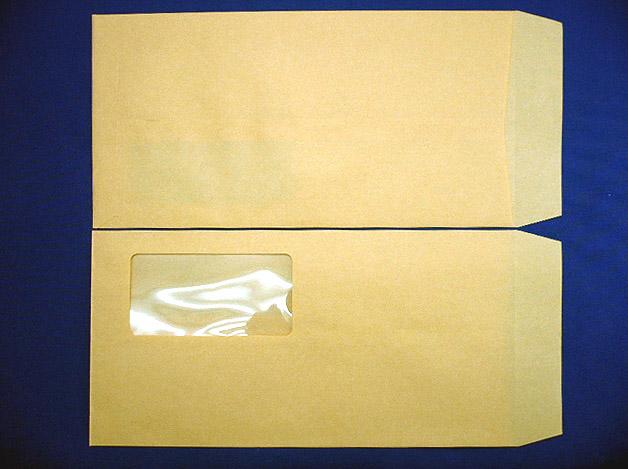 長3封筒クラフト70g A窓枠なし 1,000枚(3A0700)