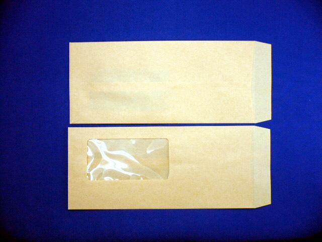 長4封筒 クラフト 70g A窓/枠なし 1,000枚(4A0700)