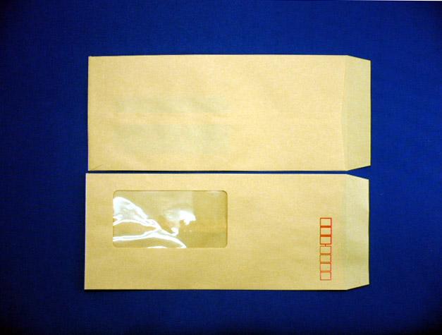 長4封筒 クラフト 70g A窓付/郵便枠付 1,000枚(4A1700)