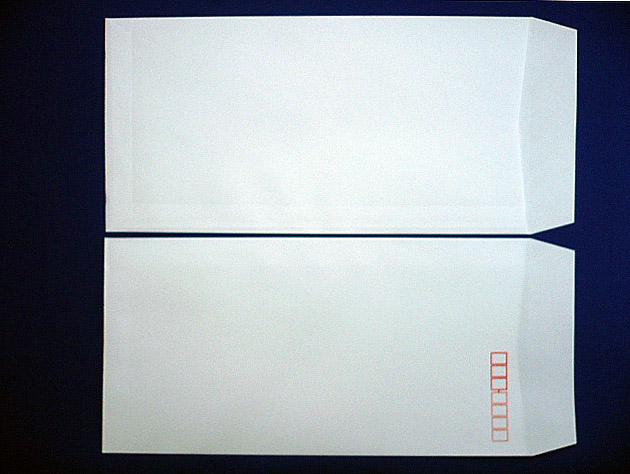長3封筒 白菊 100g L貼 1,000枚(301461)