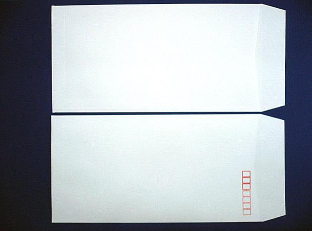 長3封筒 白菊 80g L貼 10,000枚(309011)