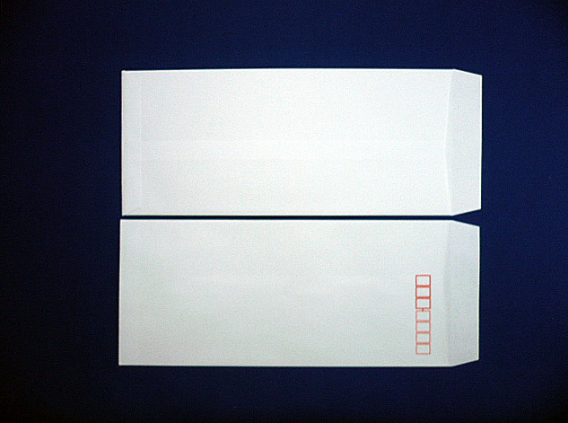 長4封筒 白菊 70g L貼 1,000枚(407011)