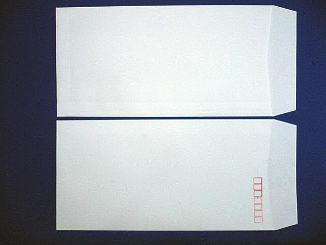 長3封筒 白菊 80g L貼 100枚(309011)☆小ロット