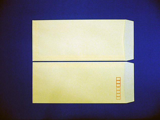 長4封筒 クリーム 70g L貼 1,000枚(407051)