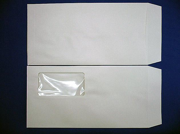 長3封筒 グレー 70g A窓枠なし 1,000枚(3A6120)