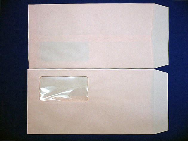 長3封筒 ソフトピンク 80g  A窓付/枠なし 1,000枚(3A8330)