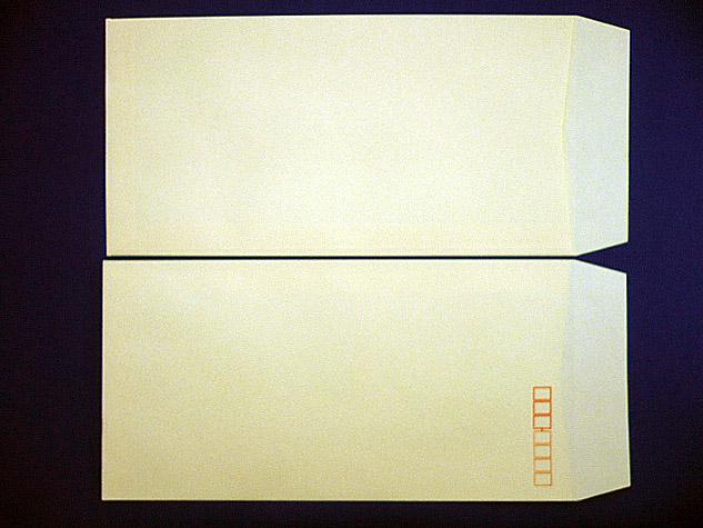 長3封筒 クリーム 70g L貼 1,000枚(307051)