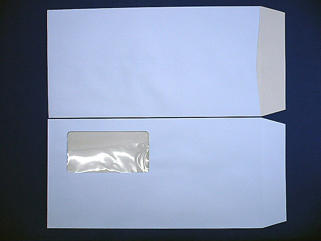長3封筒 セロ窓付 (中身が見えない)プラテクトアクア 80g 1,000枚(3A0820)