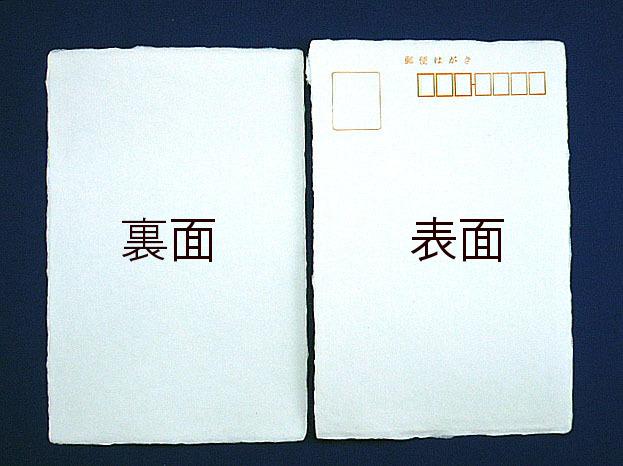 鳥の子はがき(和紙)/ 100枚(ハ02520)