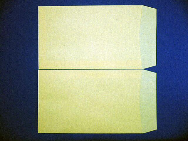角8封筒(枠なし) クリーム 85g L貼 給料袋 1,000枚 (KK8051)