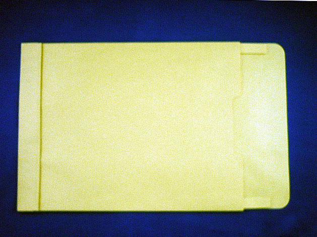 角0封筒 マチ付 保存袋 クリーム 120g 玉(マルタック)なし/100枚(H00B05)