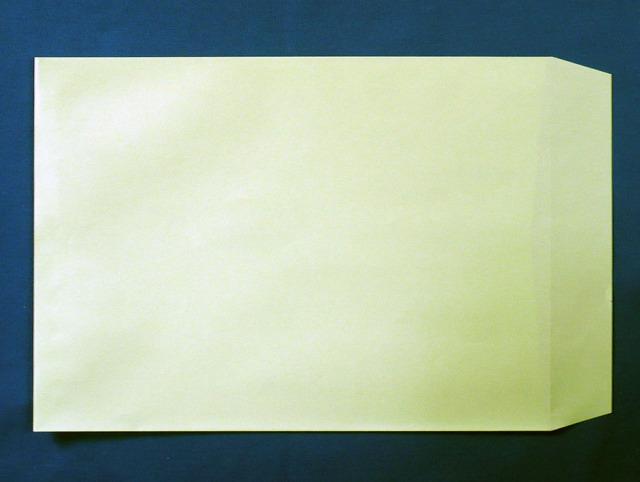 角A4封筒 ウグイス 85g L貼 /500枚 (KA8061)
