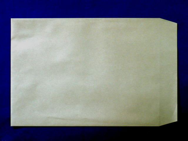 角2封筒 グレー 85g L貼 /500枚(K28121)