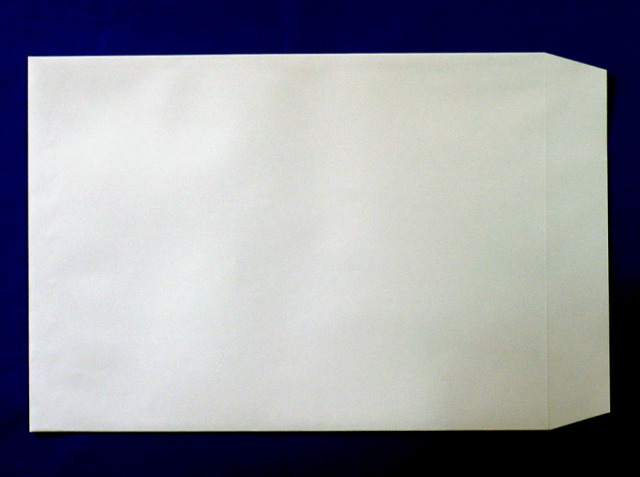 角A4封筒 ソフトグレー 100g L貼 /500枚 (KA2321)