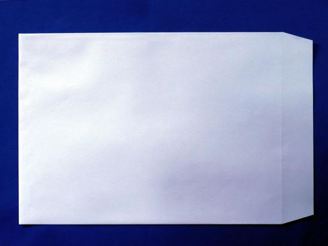 角0封筒 スカイ 100g 100枚(K02040)