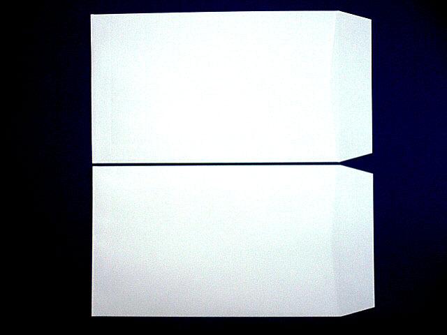 角8封筒(枠なし) 白菊 80g L貼  給料袋 100枚 (KK8011)☆小ロット