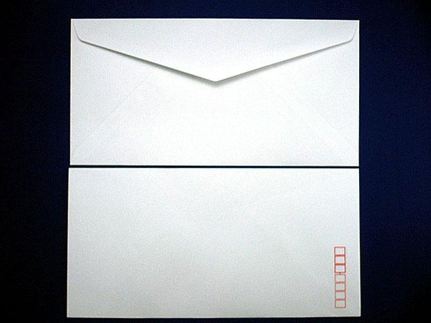 洋0封筒 洋長3 白菊(枠入)/500枚(Y00461)