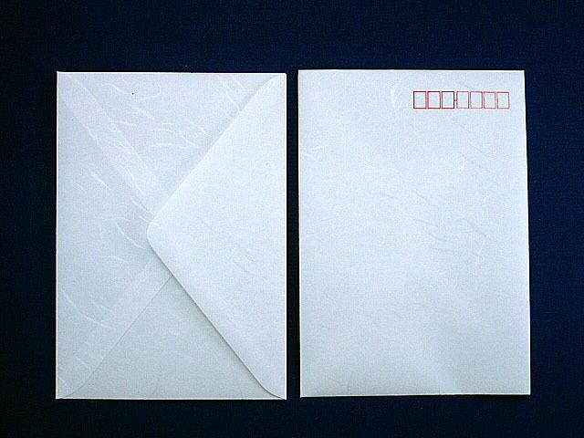 洋2封筒 和紙 白大礼(枠入)/500枚(Y20471)