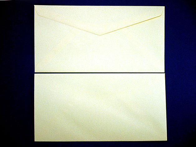 洋0封筒 洋長3 ソフトクリーム(枠なし)/500枚(Y02500)