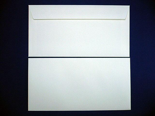洋0封筒 カマス貼 ソフトホワイト 郵便枠なし/500枚(YS0210)