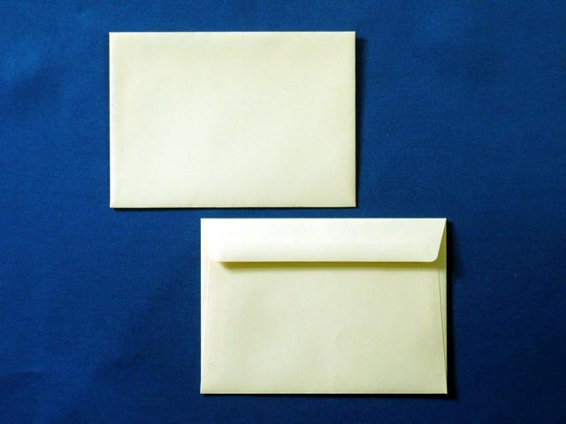 洋2封筒 カマス貼 ソフトクリーム(枠なし)/500枚(YS2250)
