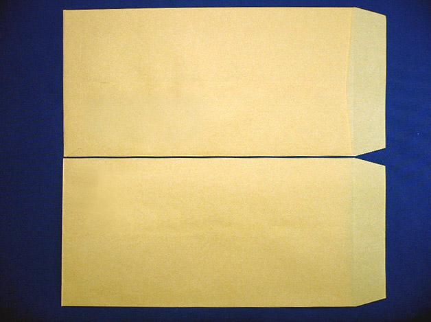 長3封筒クラフト70g L貼枠なし 1,000枚(300701)