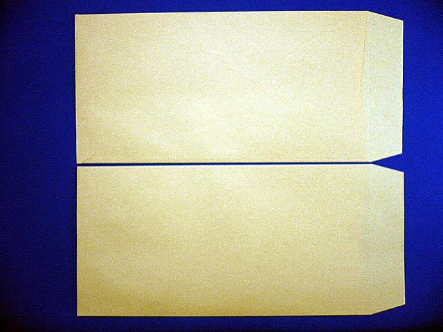 長3封筒クラフト85gL貼 枠なし 1,000枚(300851)