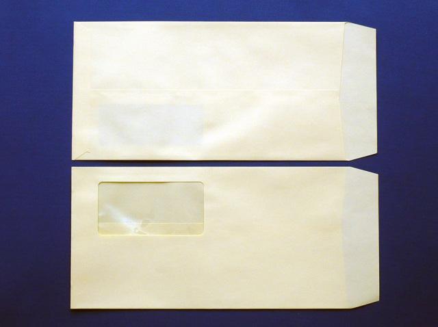 長3封筒 ソフトクリーム 80g  A窓付/枠なし 1,000枚(3A8250)
