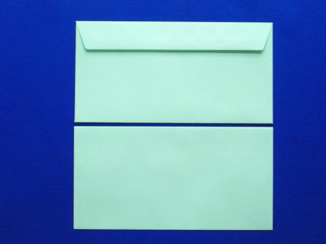 洋0封筒 カマス貼 ソフトグリーン(枠なし)/500枚(YS0310)