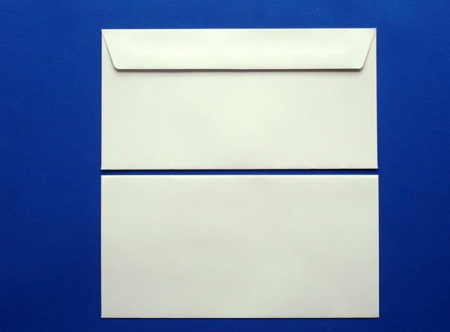 洋0封筒 カマス貼 ソフトグレー(枠なし)/500枚(YS0320)
