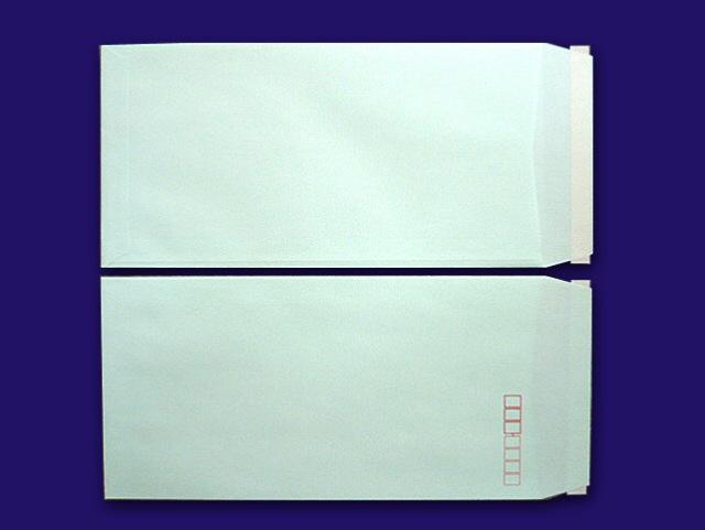 長3封筒 ミズイロ 85g L貼 テープ付 500枚(30903B)