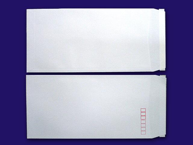 長3封筒 白菊 80g L貼テープ付 500枚(30901T)