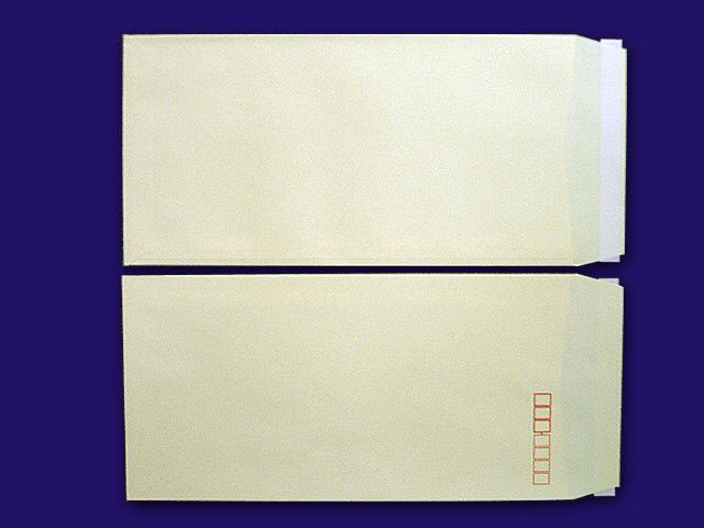 長3封筒 ソフトグレー 80g L貼 テープ付 1,000枚(30932B)