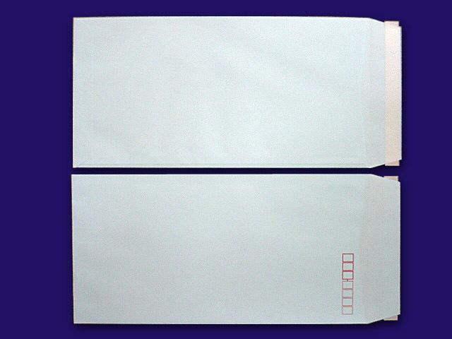 長3封筒 スカイ 85g L貼 テープ付 500枚(30904B)