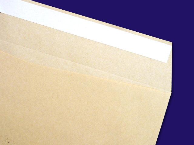 長3封筒 クラフト 70g L貼 テープ付 500枚(307705)