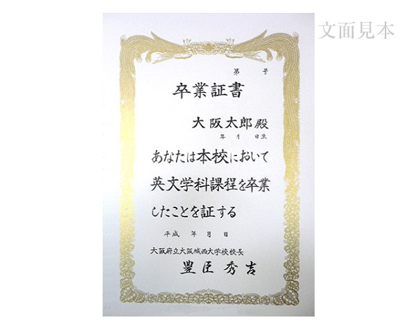 賞状用紙 オフセット対応 B5判-C ホワイト雲入 /100枚 (CB5c00)