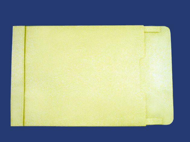 角2封筒 マチ付 保存袋 クリーム 120g 玉なし/100枚(H20B05)