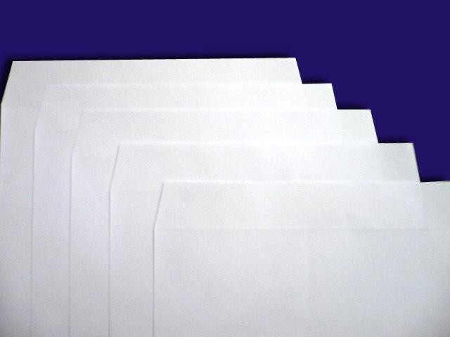 角形封筒 白