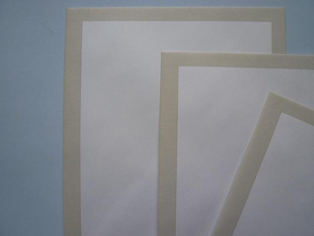 不幸用封筒/白菊2号(鼠縁枠) /500枚(Y21462)