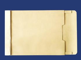 角2封筒 マチ付 保存袋 クラフト 120g 玉なし/100枚(H20120)