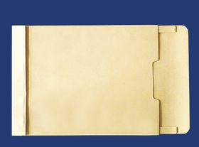 角2封筒 マチ付 保存袋 クラフト 120g 玉(マルタック)なし/100枚(H20120)