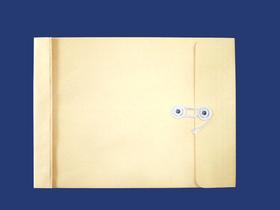 角2封筒 マチ付 保存袋 クラフト 120g 玉(マルタック)付/100枚(H21120)