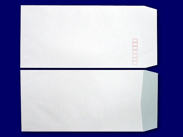 中身が見えない プラテクト封筒 長3白菊
