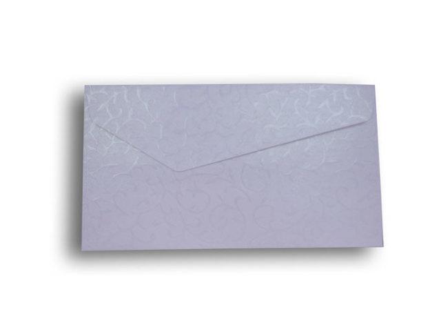 【ZAN月】 レギュラー封筒 パールリーフ ホワイト