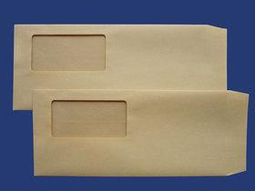 洋4立窓封筒 クラフト 70g L貼 枠なし10,000枚(ヨ4A070)