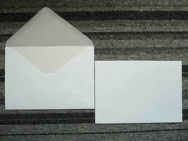 洋2ホワイト撥水封筒(枠なし)/500枚 (Y2H900)